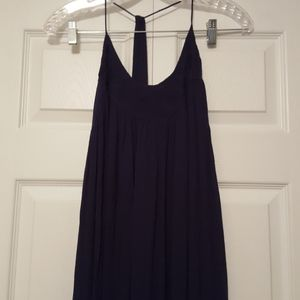 Intimately free people maxi dress, navy blue